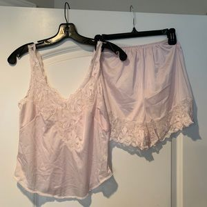 Other - Lace Camisole and Tap Pant Set Medium